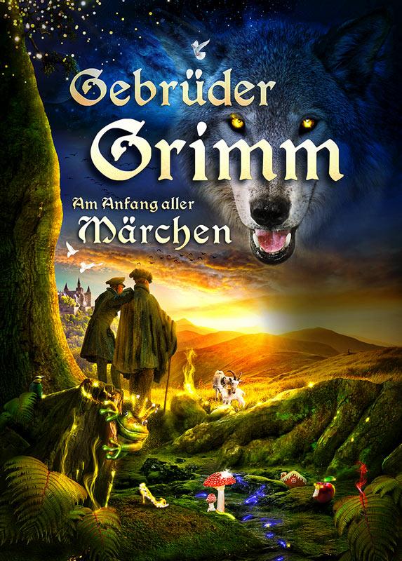 Gebrüder Grimm artwork / Grimm's brothers (Rollfeld.de)