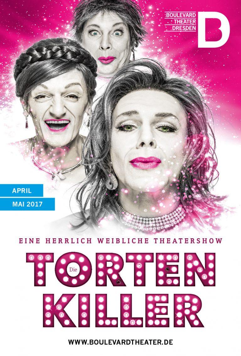 Die Tortenkiller Theater Plakat