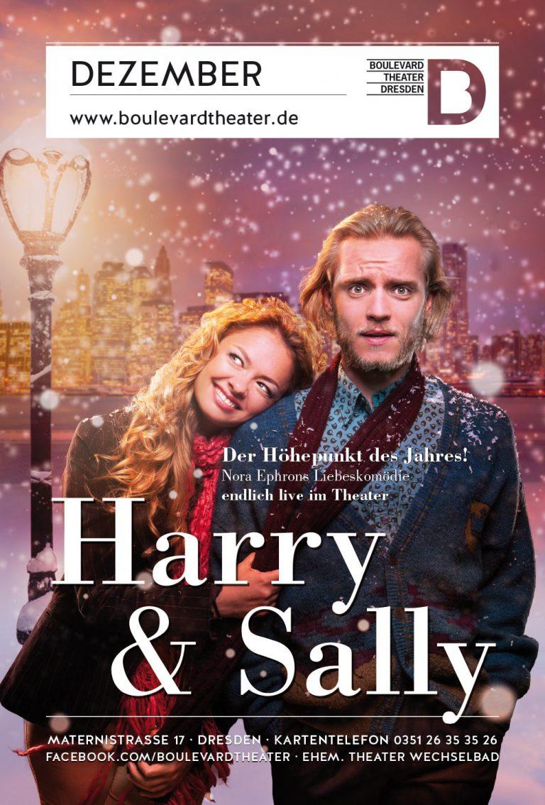 Harry und Sally Theater Plakat