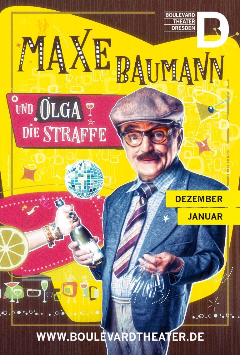 Maxe Baumann DDR Theater Plakat