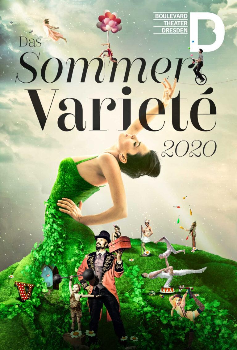 Sommer Varieté 2020, Boulevardtheater Dresden, Artwork